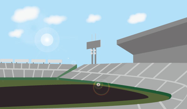 甲子園球場のイメージ