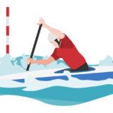 カヌー競技のイメージ
