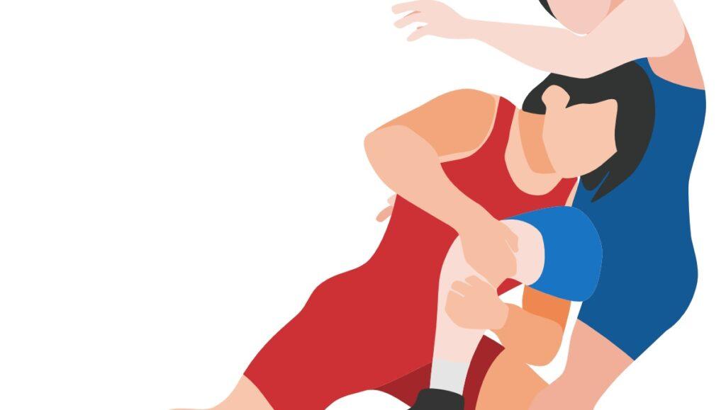 女子レスリングのイメージ