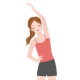 体操をする女性のイメージ