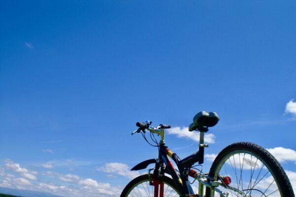 北海道で自転車トレーニング