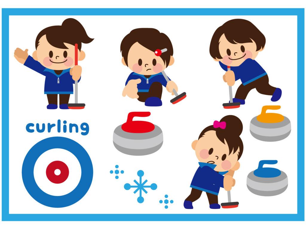 カーリングの女子チーム
