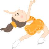 女子フィギュアスケーターのイメージ